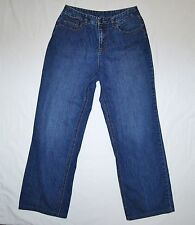 Womens Talbots Stretch Jeans Size 10 Denim Blue Boot Cut W30 L29