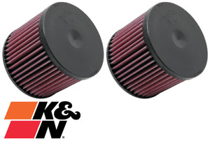 PAIR OF K&N REPLACEMENT AIR FILTERS FOR AUDI A8 D4 CDRA 4.2L V8