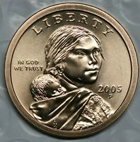 2005 P Sacagawea Dollar Choice BU Condition US Coin