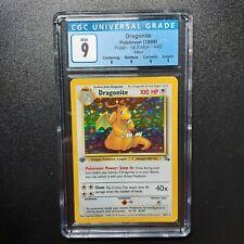 Pokemon Dragonite Holo 4/62 – Fossil 1st Edition – CGC 9 Mint