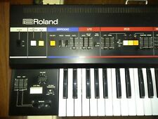 ROLAND Juno 60, 6 Voice Programmable Polyphonic Synthesizer with Roland case,
