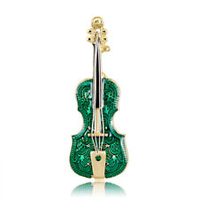 Brooch Lapel Pin Fashion Jewelry Gifts� Lovely Women Violin Shape Metal Enamel