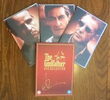Hand Signed DVD set ANDY GARCIA - THE GODFATHER TRILOGY - Brando Pacino + my COA