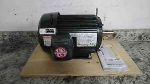 U.S. Motors U3P2D 3 HP 1800 RPM 208-230/460VAC 3-Phase General Purpose Motor