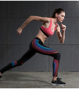 Womens Compression Legging Athletic Workout Yoga Active Bottoms Moisture Wicking