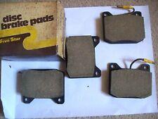 PEUGEOT 504 1969-83 FRONT DISC BRAKE PADS DB42