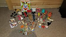 Vintage TOY LOT JUNK DRAWER LOT ELASTOLIN NOREV  ASHLAND TOY GUN & MORE!!