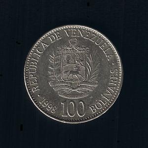 Venezuela - 100 Bolivares - 1998 - Y# 78.1