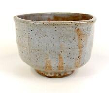 Warren MacKenzie Five Sided Oversized Shino Glazed Bowl, Stamped