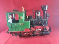 TRAIN - LBG 2020D Steam Engine With Conductor G Scale
