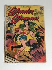 Wonder Woman #49 Dc Comics Golden Age 1951 low grade complete Soti