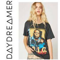 NWT Daydreamer Sz XS Notorious B.I.G. Weekend Band Tee T Shirt Biggie Smalls New