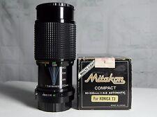 Mitakon 80-200mm f.4,5 per Konica T3 Hexanon