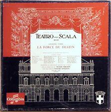 3 LP BOX EMI COLUMBIA Verdi LA FORCE DU DESTIN Serafin CALLAS France FCX-393-395