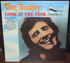LP TIM BUCKLEY Look at the fool (Charter Line/Wea 74 ITALY) unique cover SEALED!
