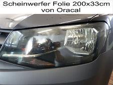 Scheinwerfer Folie Rückleuchten Tönungsfolie 200x31cm Hell-Schwarz Nebelleuchte
