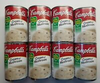 8 Pack Campbell's Condensed Healthy Request Cream of Mushroom Soup, 10.5 oz