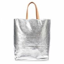 NWT Women's Juicy Couture SILVER Metallic Tote Bag - BEAUTIFUL!!