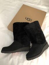 UGG Australia Boots Shoes Size- 5.5 Black 100% Authentic NEW$229