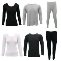 Men's Women's Cotton Long Sleeve Thermal Top Pants Leggings Long Johns Underwear