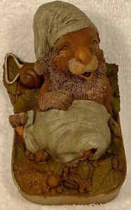 NODDINS-R 1992~Clark/Wolfe Gnomes~Item #9043~Ed #50~Hand Signed~w/COA & Story