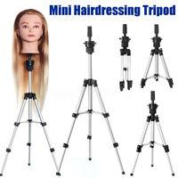 72cm Adjustable Wig Head Stand Mannequin Tripod Holder Hairdressing Training