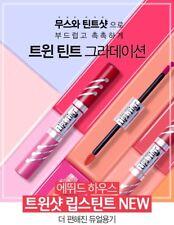 Korean COS <Etude House>Twin Shot Lips Tint_Mousse Tint & Tint shot-HappybuyJJ