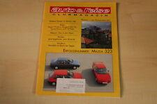 71919) Mazda 323 - Auto + Reise 11/1990