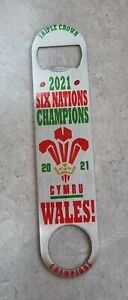Wales 6 Nations Champions Bar Blade - Bottle Opener