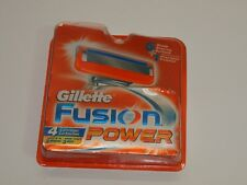 NOS Genuine Gillette FUSION Power 4 Cartridges NIP