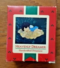 VINTAGE CHRISTMAS ORNAMENT – 1986 – HALLMARK KEEPSAKE – HEAVENLY DREAMER