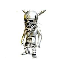 "Secret Base x Usugrow Silver World Power Rebel Ink 7"" Vinyl Sofubi Figure NEW"