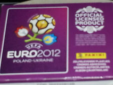 BOX FIGURINE CALCIATORI PANINI EURO 2012