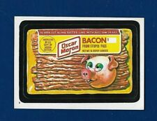 1982 Topps Wacky Packages #9 Oscar Moran Bacon (NM) Album Sticker