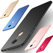 For Xiaomi Redmi Note 4 3 5A 4X Pro Luxury Slim Mate Hard Shockproof Case Cover