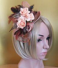 Groß Weinrot Tief Rot Rose Blumen Haarspange Rockabilly 1950er Jahre Kopfschmuck