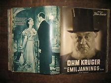 Illustrierter Film-Kurier - 109 Hefte aus den 1930er Jahren - komplette Liste !!