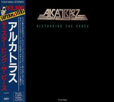 Alcatrazz – Disturbing The Peace - CD Reissue Japan Press 1991  (VG+) item*