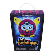 2013 Hasbro Furby Furbling Critter (Pink and Blue Houndstooth) NEW IN BOX RARE