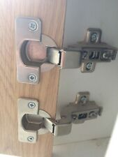 110' Concealed cup hinge, For INSET doors, Quick snap clip on 1 pair, Kitchen
