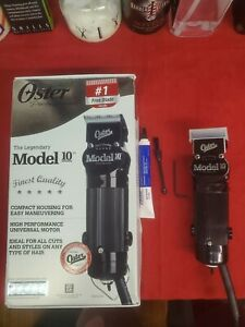 Oster model 10 clipper