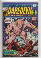 DAREDEVIL #119 VF- (MARVEL COMICS, 1975) TONY ISABELLA BOB BROWN THE CRUSHER