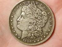 America US United States 1890 O Silver Morgan Dollar #A34