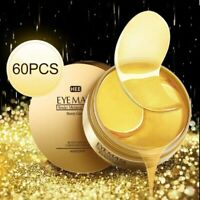 24k Gold Gel Collegan Eye Mask Hydrating Remove Dark Circles Eye Bags Eye Pads