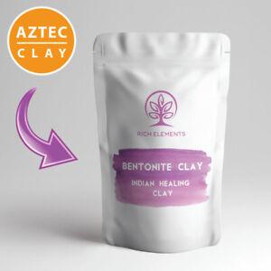 Bentonite Clay 100% NATURAL Aztec Indian Healing Clay Powder Face Masks & More