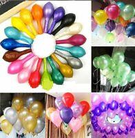 50/100pcs Colorful Latex Balloon Pearl Wedding Birthday Bachelorette Party