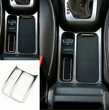 VW Tiguan Mittelkonsole Rahmen✔Abdeckung✔ Edelstahl Blende✔Chrom Getränkehalter✔
