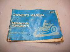 1980 Honda Twinstar Owners Manual, Vintage Motorcycle, 3146500, CM200 185 250