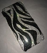 Zebra Crystal Diamond Back Case For IPHONE 10 x Made w/ 100% SWAROVSKI CRYSTALs
