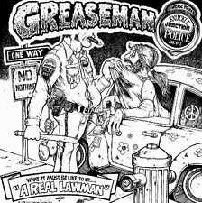 "GREASEMAN ""A REAL LAWMAN"" CD & AUTOGRAPHED PHOTO !!"